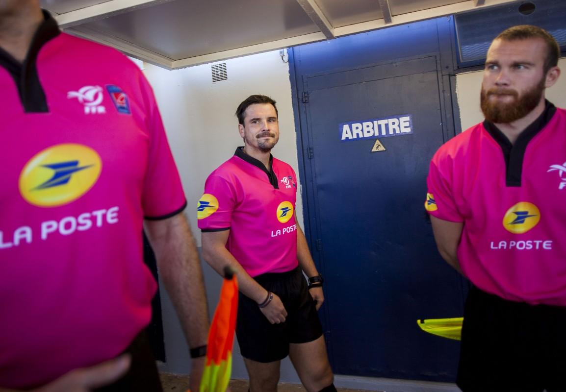 Profession : arbitre de rugby